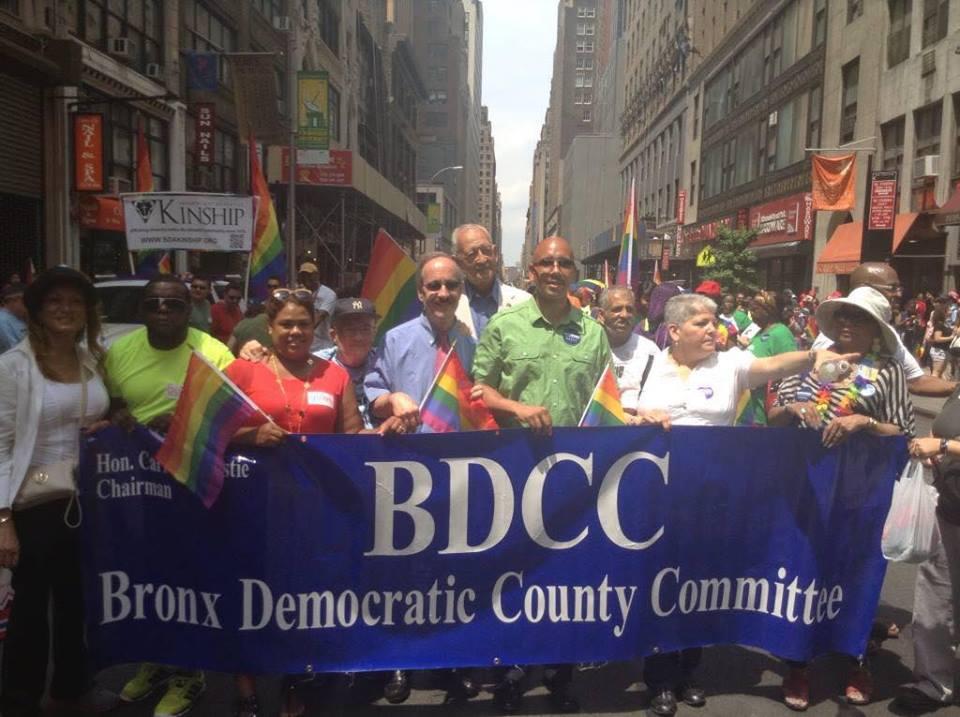 Lewis BDCC Pride Parade
