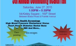 #Not62 Morrisania Community Health Fair, June 27