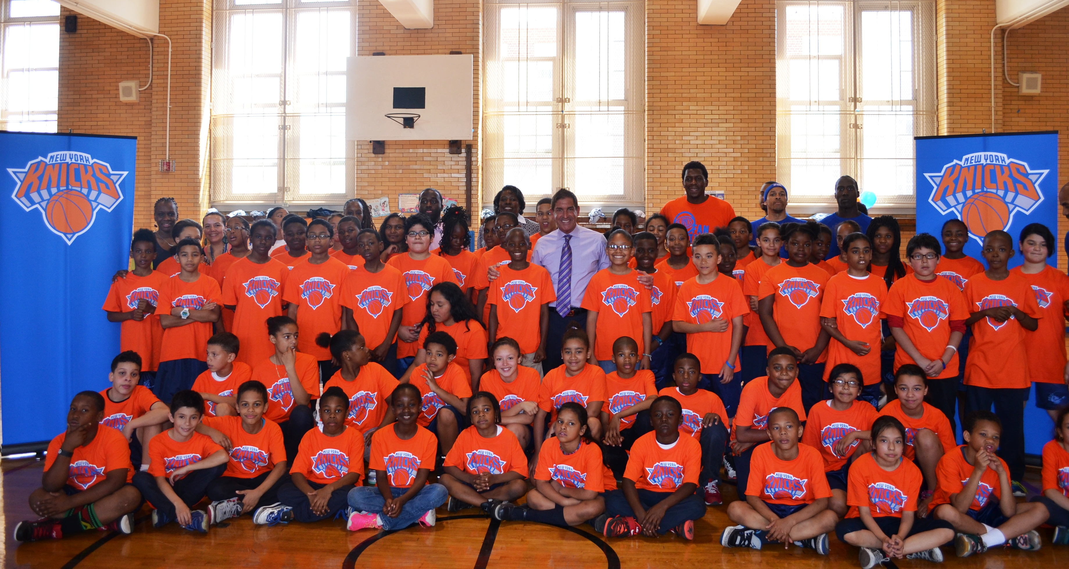 P.S. 107 Basketball Clinic - May 2015