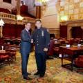 Senator Klein & Vic DiPierro - June 2015