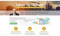 COMPTROLLER STRINGER LAUNCHES ONLINE TOOL TO HELP NEW YORKERS MAKE SMART BANKING DECISIONS