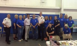 Country Club Civic Association & the 45th Precinct Team Up to Clean Up!