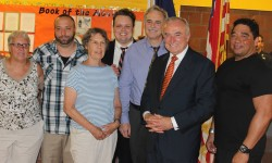 Commissioner Bratton Visits City Island