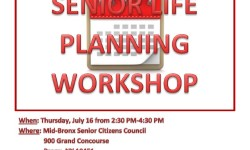 Assemblywoman Joyner hosts Senior Life Planning Workshop