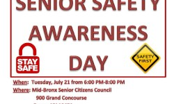Assemblywoman Joyner hosts Senior Safety Awareness Day