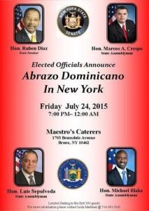 Abrazo Dominicano In New York 2015