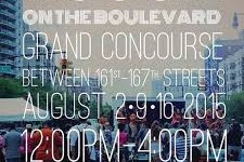 BOOGIE ON THE BOULEVARD RETURNS TO THE GRAND CONCOURSE THIS SUNDAY