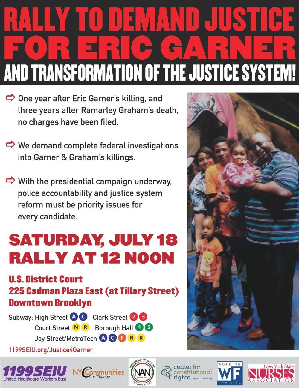 Eric Garner Rally_July 2015