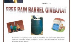 Free Rain Barrel Giveaway, August 8