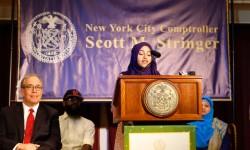 Scott Stringer's Eid Celebration