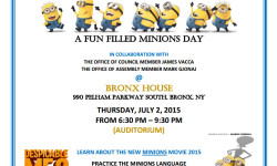 EF Sports, Inc. & The Bharati Dance Academy presents MINIONS Day