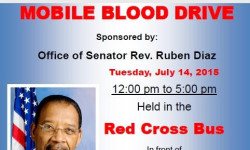 Red Cross Blood Drive, July 14