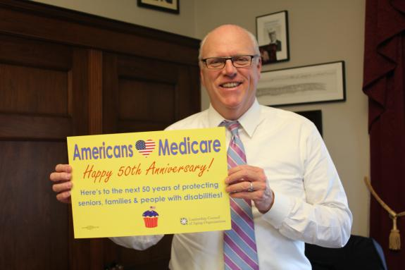 Rep Crowley_Happy Birthday Medicare-Medicaid
