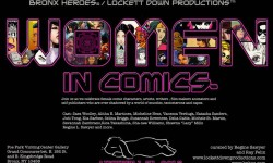 Women in Comics Exhibition II – Opening Reception August 1st