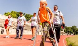 """CANCER PATIENTS ATTENDED 10TH ANNUAL WALK TO """"STOMP OUT SARCOMA"""""""