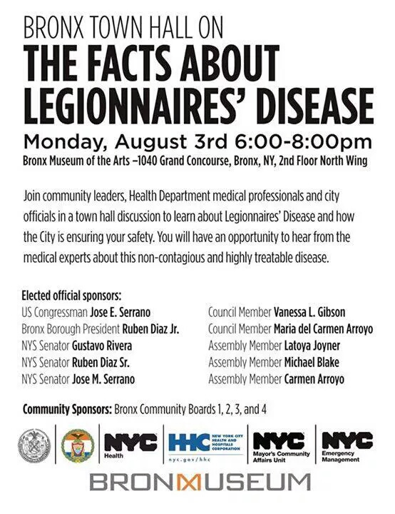 the bronx chronicleyour legionnaires' disease primer - the bronx, Human Body