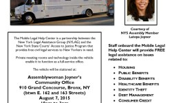 Assemblymember Joyner Hosts Free Legal Services