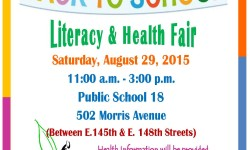 Back to School – Literacy and Health Fair