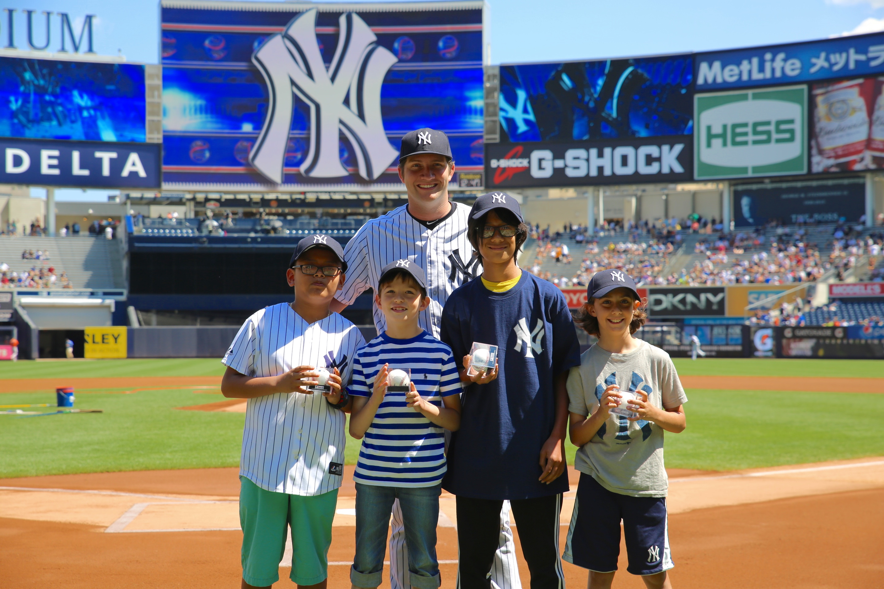 The New York Public Library Celebrates Top Summer Readers at Yankee Stadium