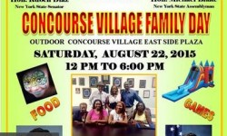 Third Annual Concourse Village Family Day, 8/22