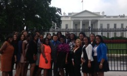 Monroe College Students at White House