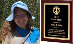Kathy Kelly Win 2015 Peace Prize
