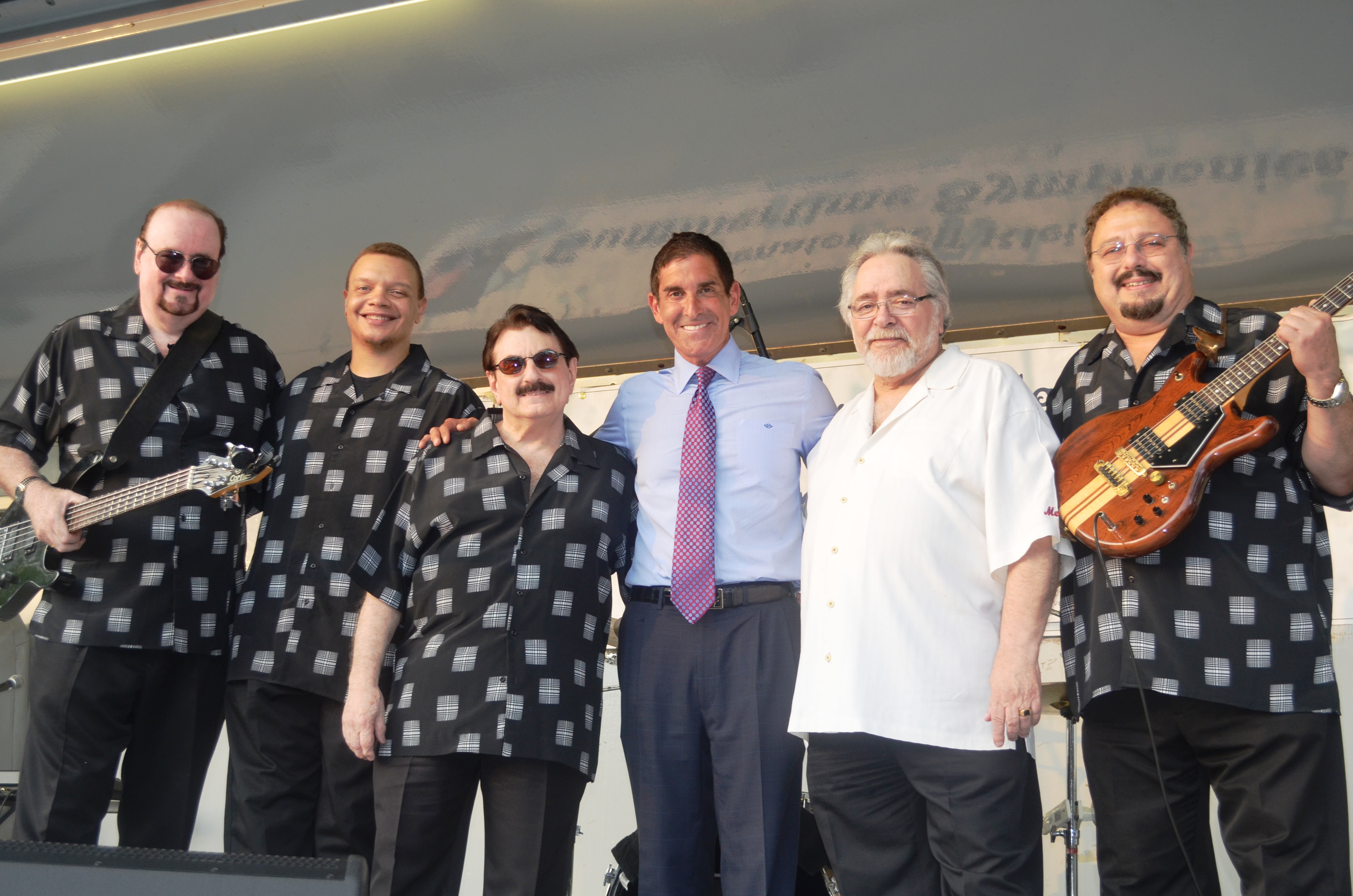 enator Jeff Klein hosts Larry Chance & The Earls at Bufano Park on Aug. 19 as part of his Summertime Symphonies Series.