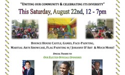 3rd Annual Cruger-Mace International Back-to-School Block Party from 12-7pm at 2455 Cruger Ave. in Allerton
