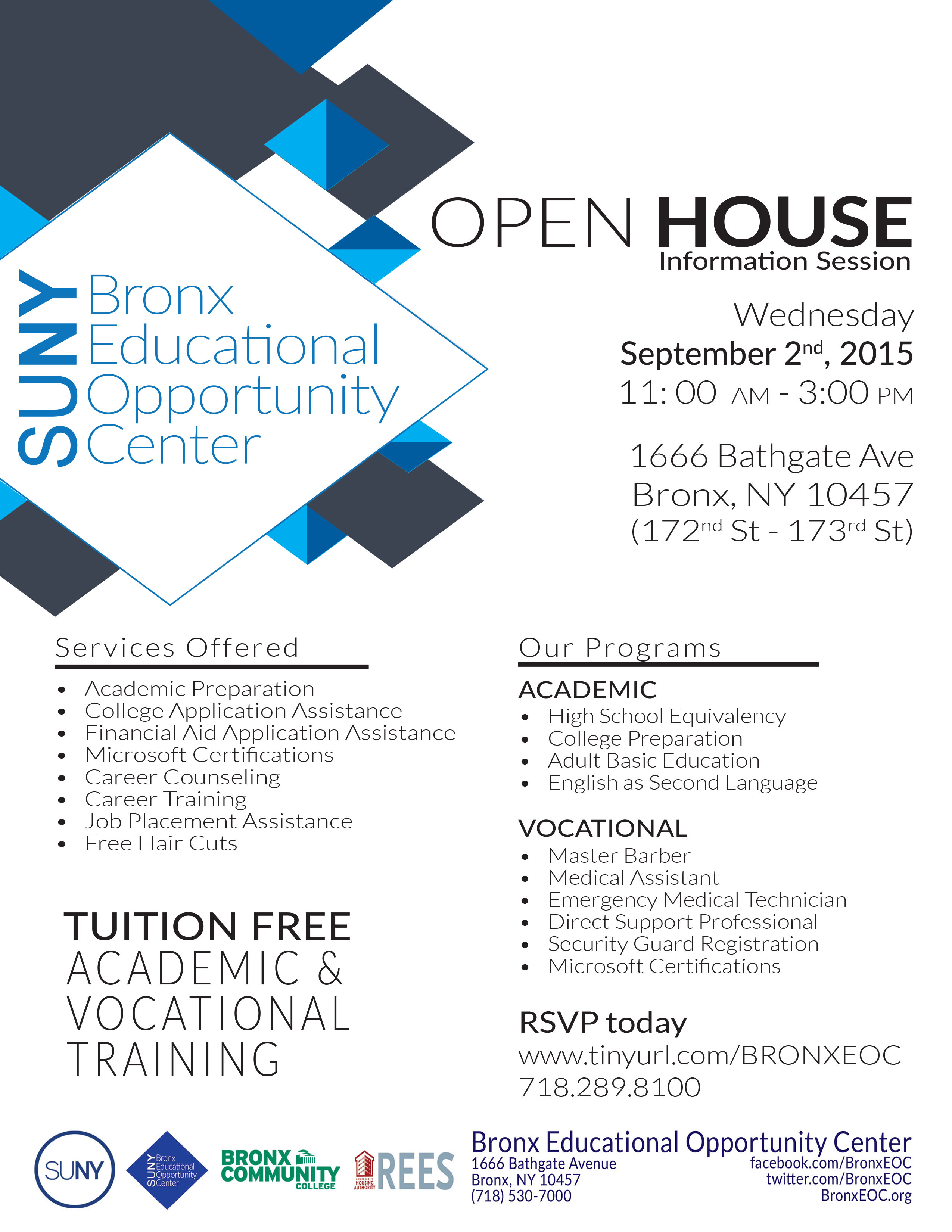 Open House NYCHA only