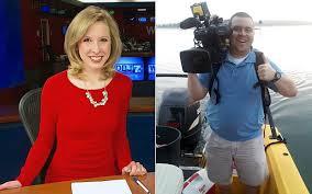 WDBJ-TV journalists, Alison Parker (l) and Adam Ward (r).