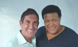 SENATOR JEFF KLEIN HOSTS THE LEGENDARY CHUBBY CHECKER AT LORETO PARK