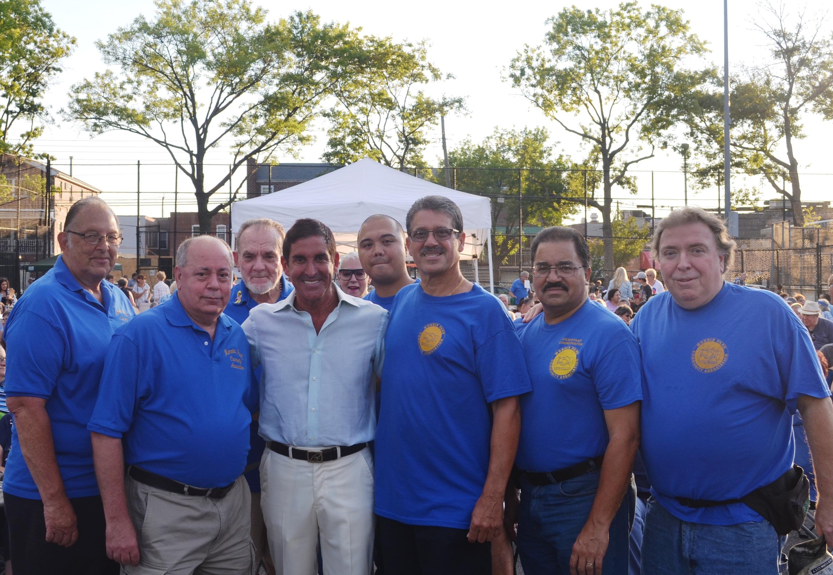 Senator Klein and MPCA at Chubby Checker Concert - Aug. 2015