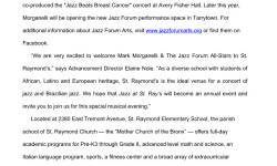 Jazz at Saint Raymond Elementary School