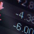 NYSE Stock Market Down -- Dow Jones
