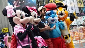 Times Square Costumed Characters