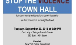 """Stop the Violence Town Hall"" Tonight with Councilmember Ritchie Torres"