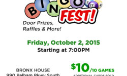 Crime Victims Support Services of the North Bronx – October Bingofest 10/2/15