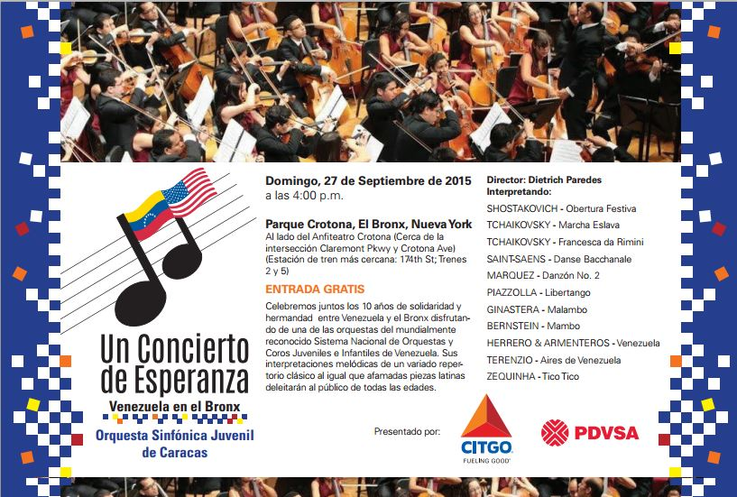 A Concert of Hope_Venezuela in the Bronx_SPANISH-09272015