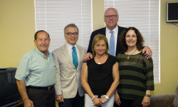Crime Victims' Non Profit Finds Support from Congressman Crowley and Council Member Vacca