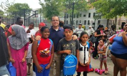 PS 106 School Supplies Event Hosted By AM Sepulveda