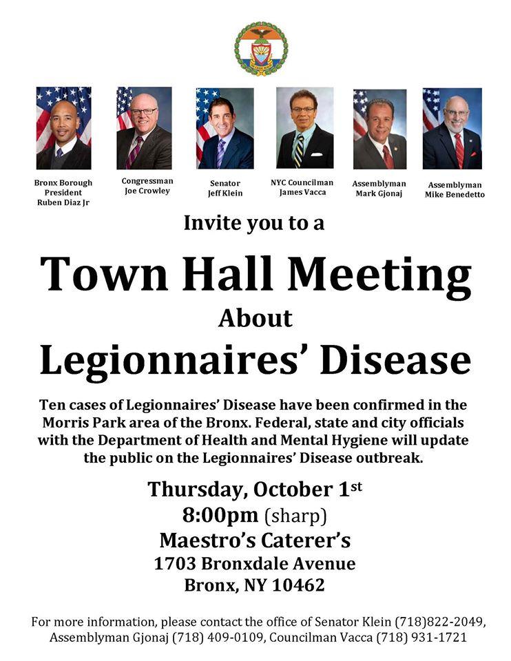 Legionnaires Town Hall