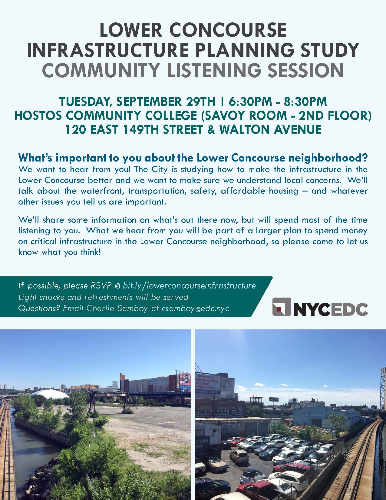 Lower Concourse Community Listening Session_ 9 29 2015