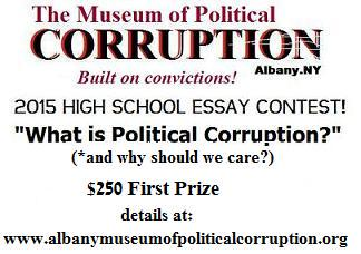 Museum of Political Corruption Essay Contest 2015