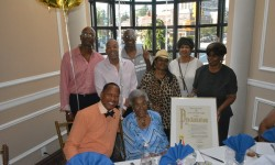 Councilman Andy King Honors Ruth Smith on her 90th Birthday