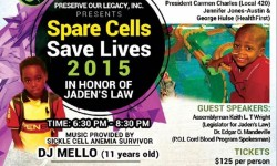 Spare Cells Save Lives — Jaden's Law Fundraiser, 9/30