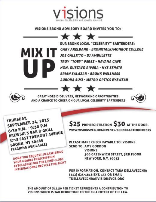 VISION_Mix It Up event