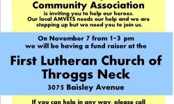 AmVets Fundraiser 11/7/15