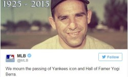 City Flags To Fly At Half Mast In Honor of Yogi Berra