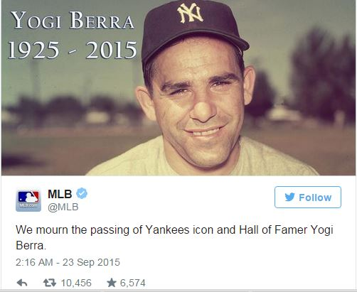 Yogi Berra-MLB