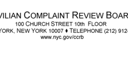 NYC CIVILIAN COMPLAINT REVIEW BOARD ISSUES 2015 MID-YEAR REPORT: COMPLAINTS ARE DOWN, SUBSTANTIATIONS ARE INCREASING AND VIDEO EVIDENCE IS INCREASINGLY PARAMOUNT TO INVESTIGATIONS